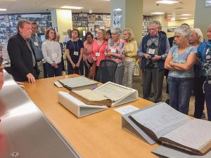 Mark McGowan at the Archives of Ontario